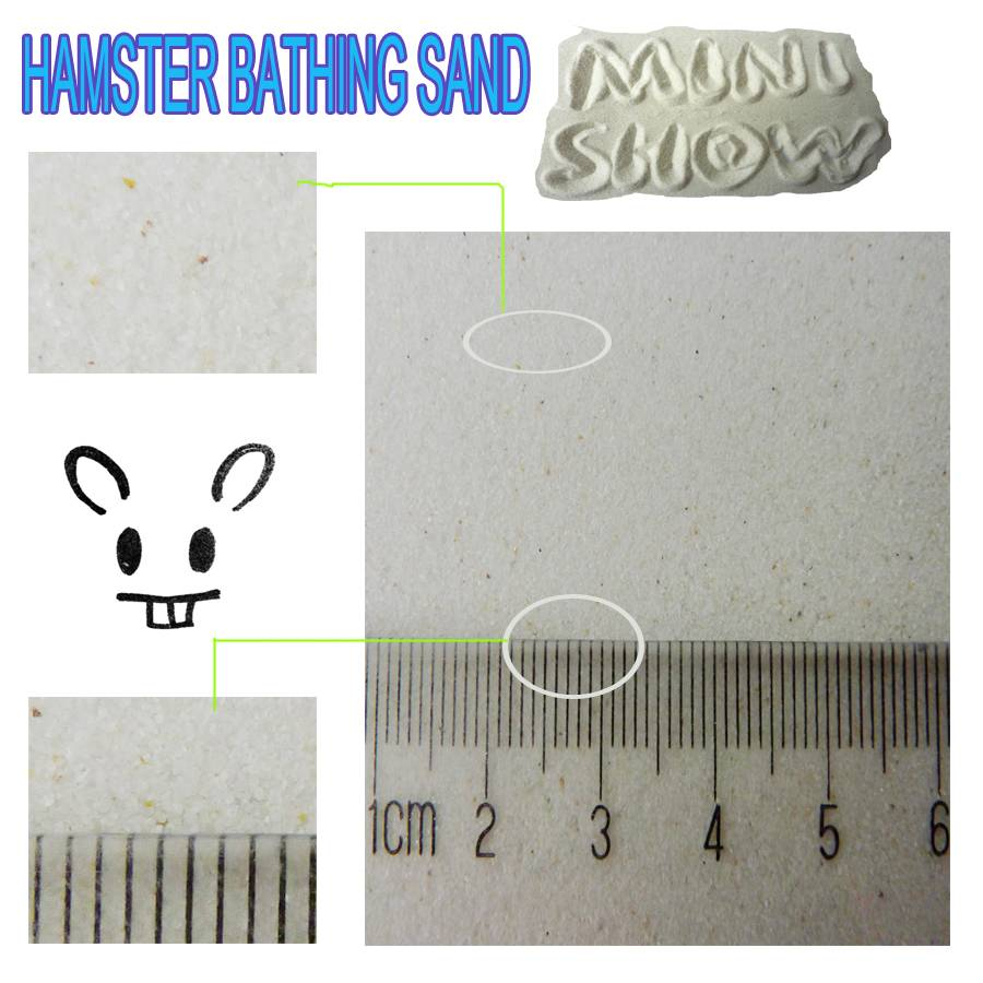 Hamster bathing sand EMILY PETS products