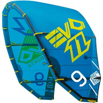 2014 North EVO Kiteboarding Kitesurfing 12M Complete 2014 North EVO 2014 - Quad Trust (4-Line)