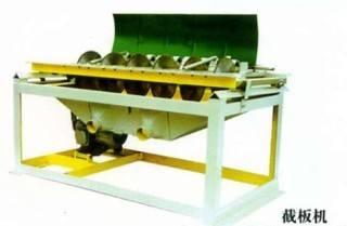 Round wooden stick making machine