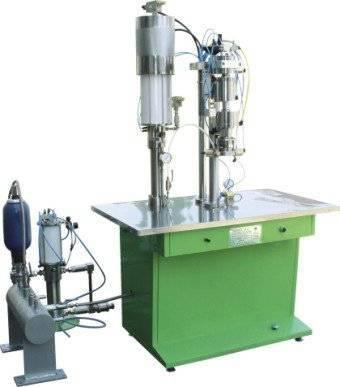 refrigerant aerosol filling machine