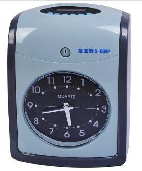 2014 Attendance time  recorder S-860P