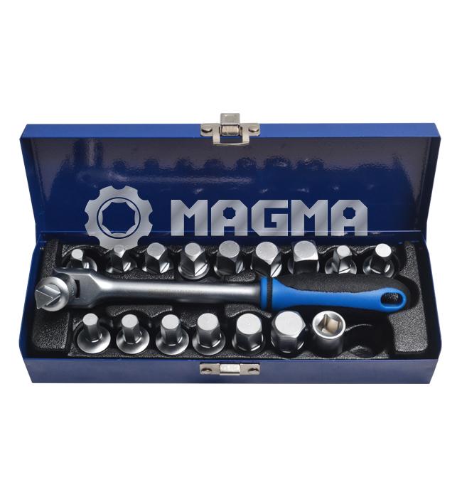 "18 PCS 3/8"" Dive Oil Drain Plug Key (MG20019A)"