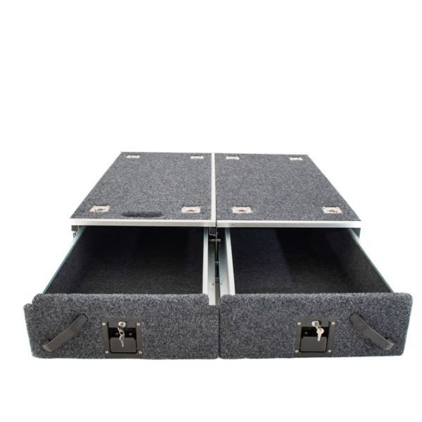AW Series Drawer System - 1070mm (without wings) | Suitable for most 4WD Wagons