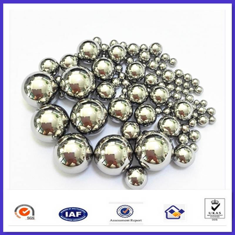 LOW carbon steel ball in bearing accessory / steel ball for single row bearings