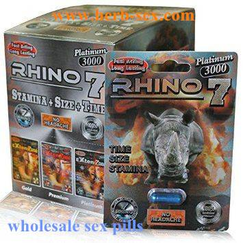 wholesale Rhino 7 Platinum 3000 Blue Male Enhancement Pills