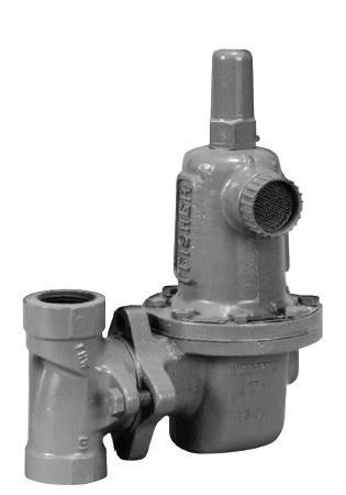 Fisher627 gas regulator