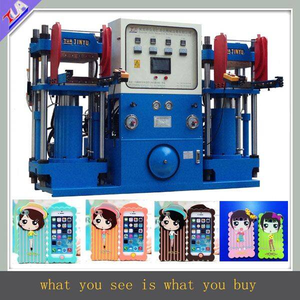 Special designed silicone cellphone case shaping machine