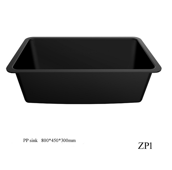 laboratory chemical resistant PP sink