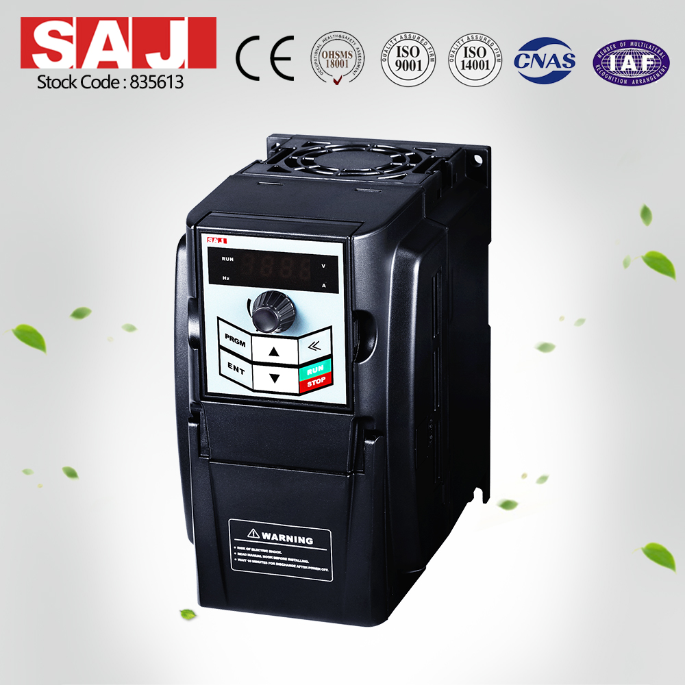 SAJ Variable Speed Inverter for AC motor control