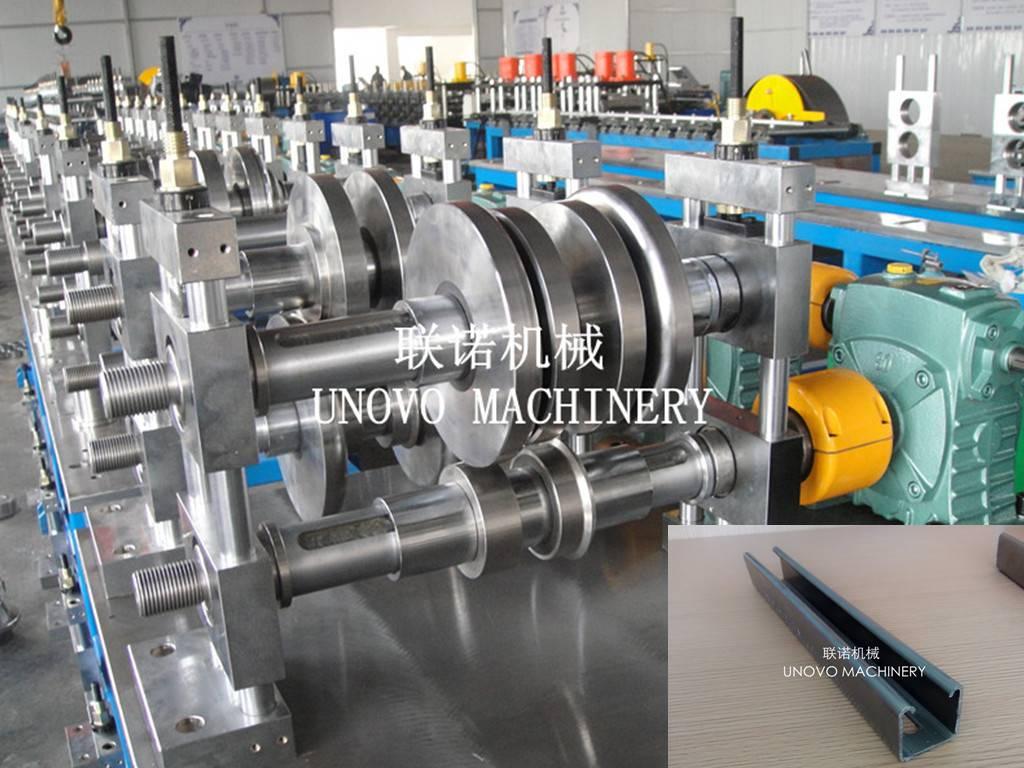 hot sale strut channel strut channel roll forming machine