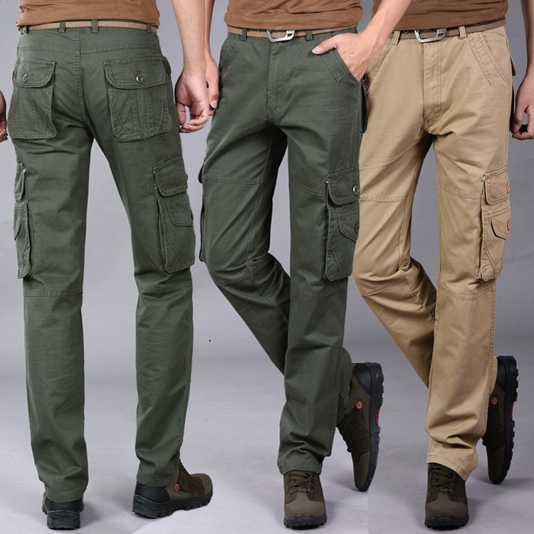 3 Colors Men Overall Pants