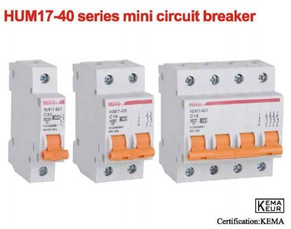 HUM17-40 Series Mini Circuit Breaker