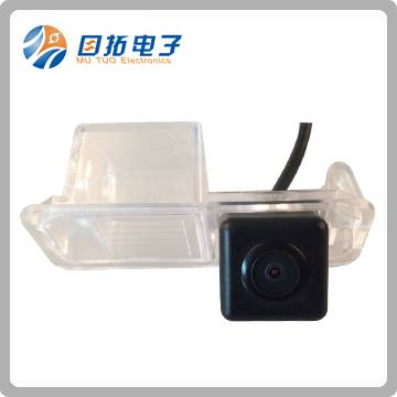 Car License Lamp RGB Rearview CMOS Camera Built-in Decoder and Ipas for Volkswagen