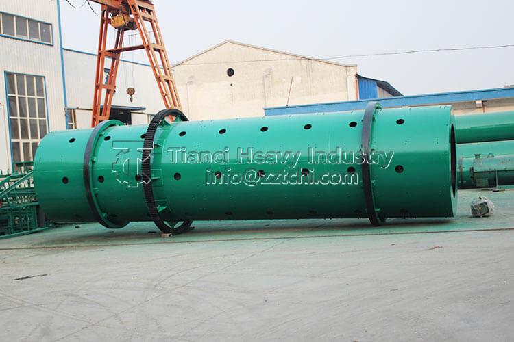 Large Capacity NPK Compound Fertilizer Drum Granulator Machinery