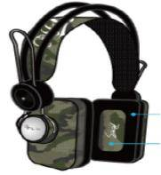 CLEARENCE Green Camo custom one pro ideal DJ or Gaming headphones