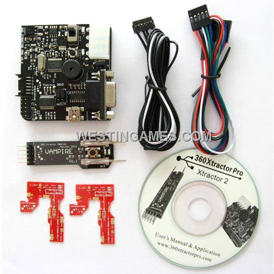 360 Xtractor Pro V2.0 with Vampire and Rebuild Boards Full Tool Kit for Xbox 360