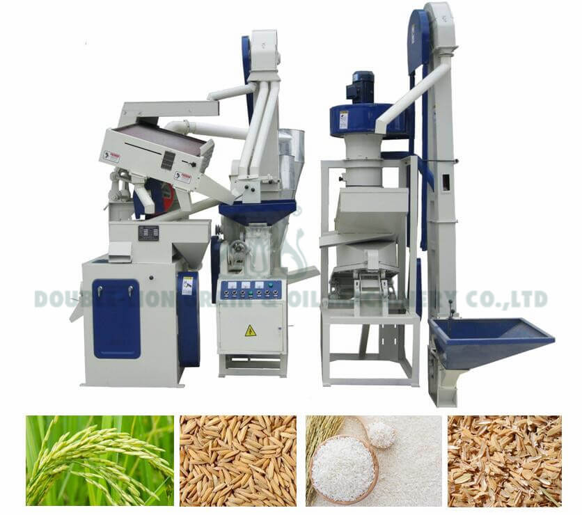 CTNM15B Combined Rice Mill