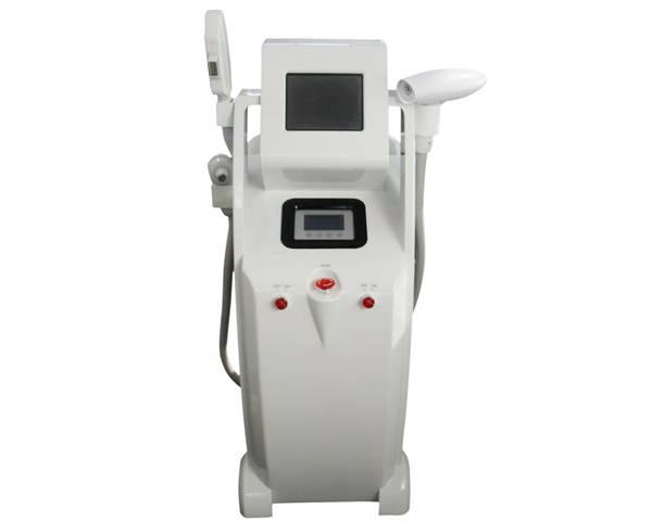 Multi functional E light + RF + Nd: YAG laser
