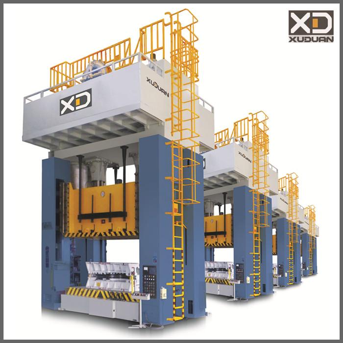 JH36 250 - 1250 ton h frame power press machine