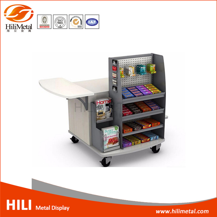 Customized store fixture for supermarket sheves display rack
