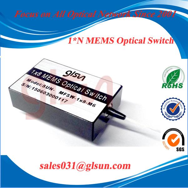 Multi-channel Mechanical 1xN MEMS Optical Switch