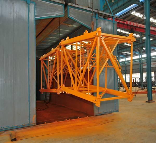 High quality QTZ50 4ton tower crane manufacturer