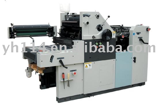 Two Color Offset Press machine