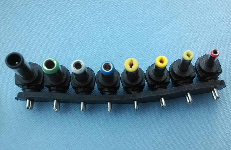 right angle dc power plug adapter tips