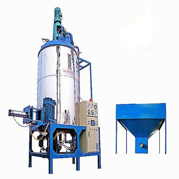 eps beads prefoaming machine,eps panels foam machine