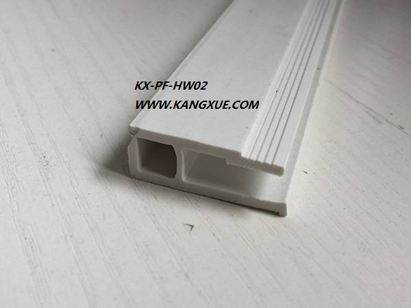 Pvc extrued profile for stretch ceiling
