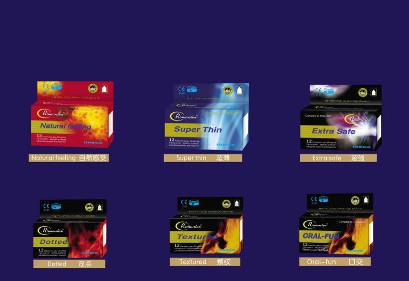 Natural Safety Condoms Romantex