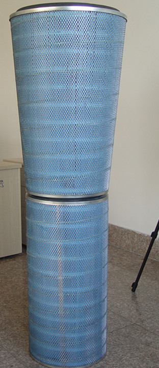 Cartridge filter--Replacement of Donaldson