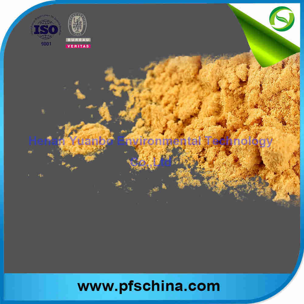 Poly Ferric Sulfate for water treatment