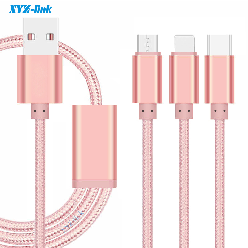 China wholesale super Speed nylon usb cable For Samsung mobile phone