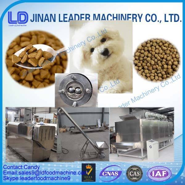 Commercial fish dog cat feed extruder machine made in china