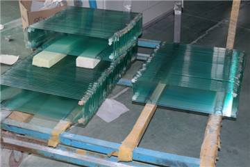 6mm clear tempered Louver glass for window