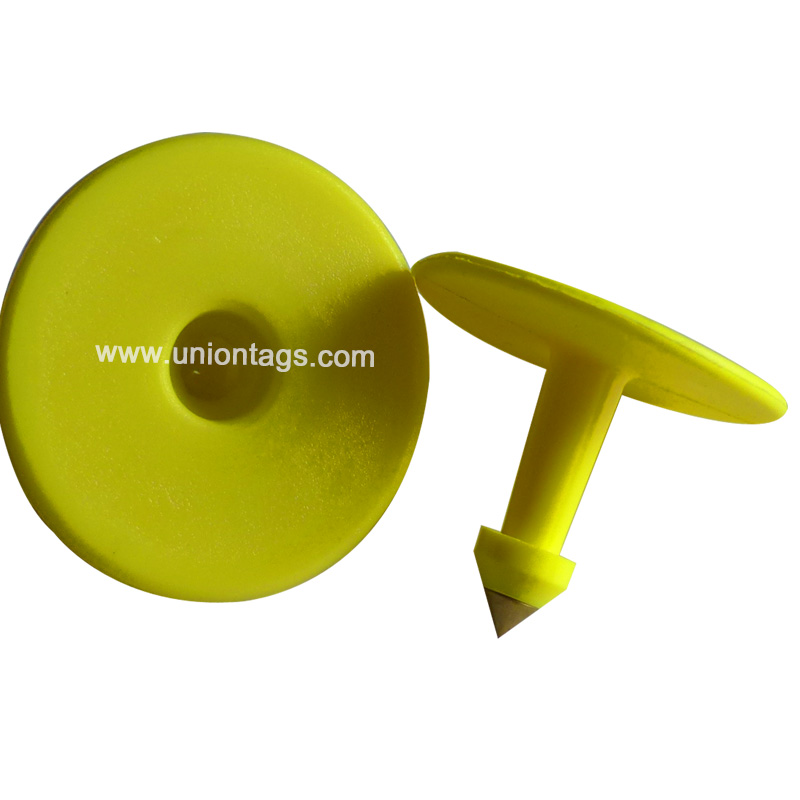 Animal Ear Tag for Cattle Pig Sheep RFID plastic