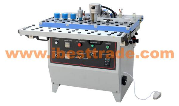 E08C 45° Push Table Double-side Curved Linear Edge Banding Machine