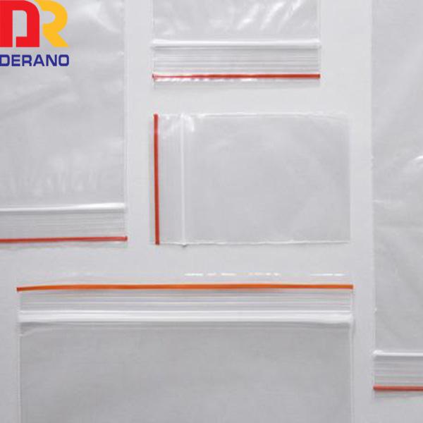 Hot sales custom ldpe zipper bag/small zip lock bag for packaging