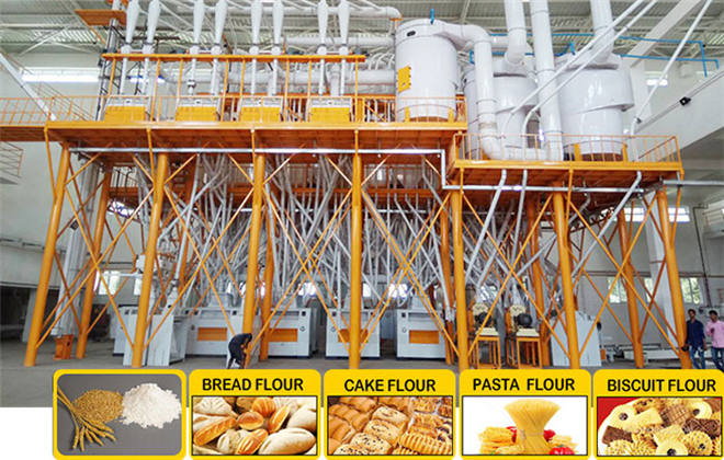 Steel Structure Flour Milling Plant