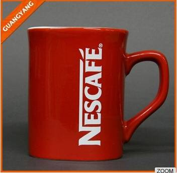 Nescafe coffee mugs, nescafe red mug, ceramic nescafe cup