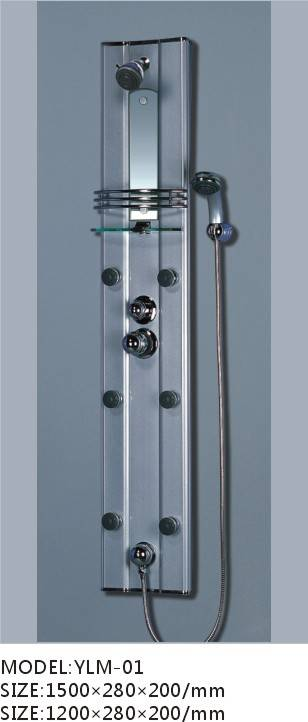 new design Shower Panel( YLM-01), easy to install and