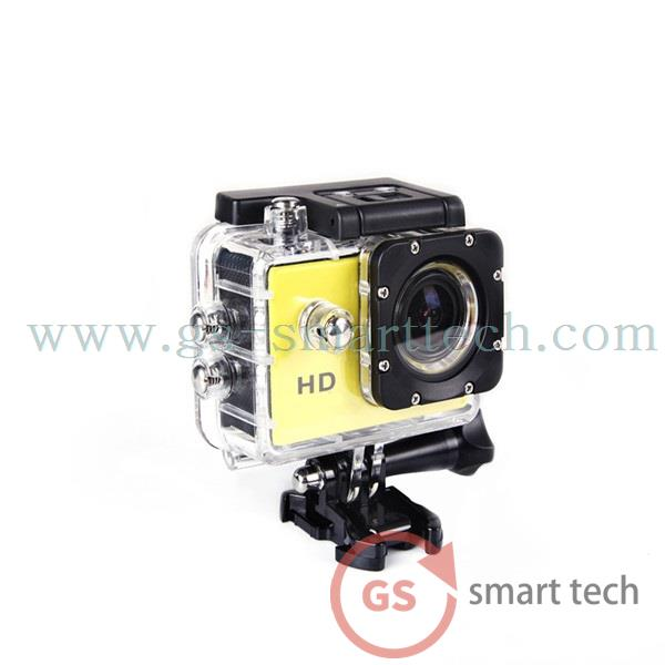 1.5 inch Action Digital Camera Camcorders Sport Cam 1080P HD Waterproof 30M Helmet Cameras Diving Sp