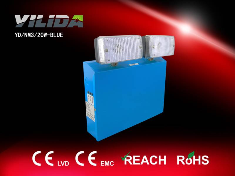 Yilida Emergency twin spot light popular in Europe with CE & RoHS