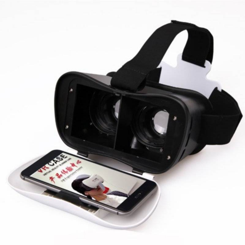 China factory supply plastic VR 3D glass for virtual reality games