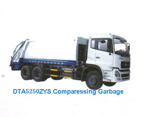 Compressed Garbage Truck