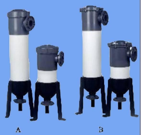Plastic bag filter housing, UPVC bag filter housing, Filter housing