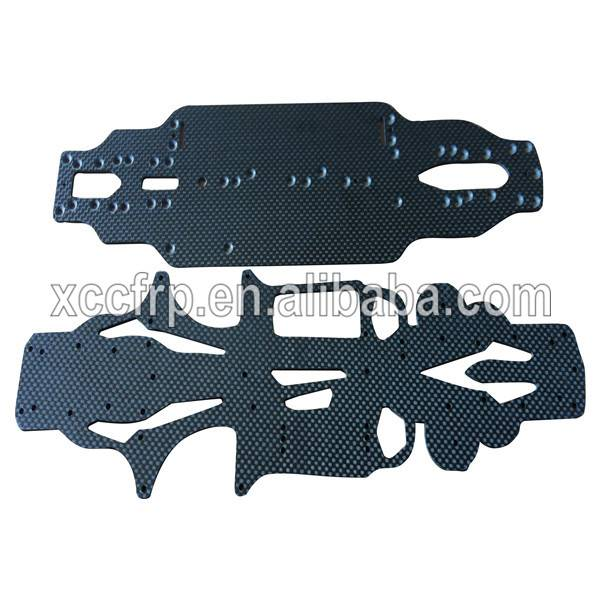 Factory price High Quality 3K Carbon fiber cnc UAVS Helicopters RC Parts