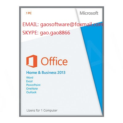 office 2013 home and business pkc key cards 100% online activation