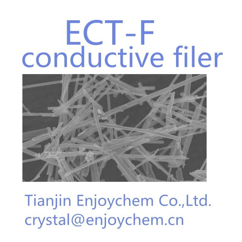 white conductive fiber